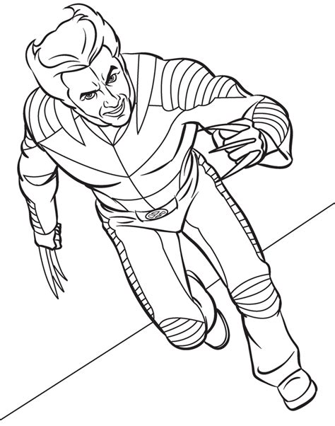 superhero coloring pages coloring pages to print