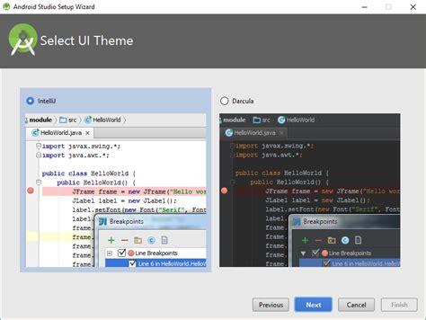 android studio themes android tutorial android studio 2 installieren und einrichten