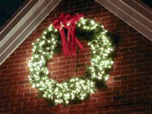 outdoor light up wreath lighted outdoor wreath home wreaths galore