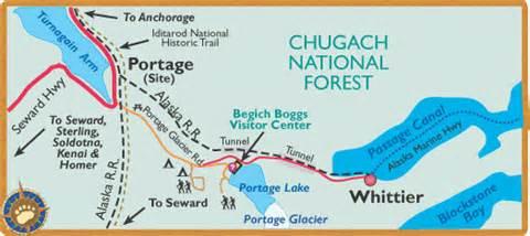 Whittier Alaska Map by Get An Alaska Map Maps By Bearfoot Guides Maps Of