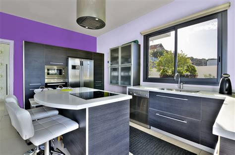 peinture cuisine violet peinture plafond cuisine free plafond tendu barrisol
