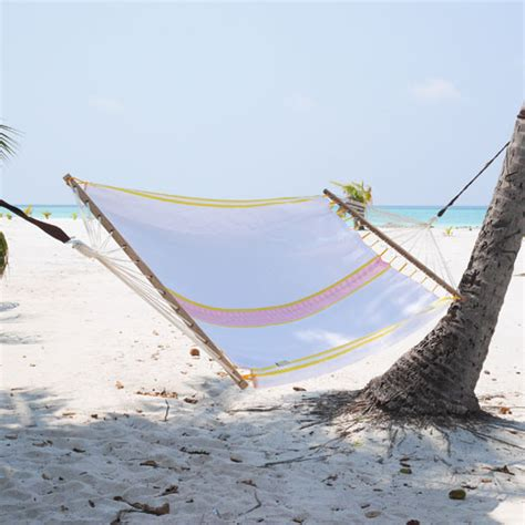 Hammocks Uk Caribe Hammock With Spreader Bar Sand Sleepy Hammock