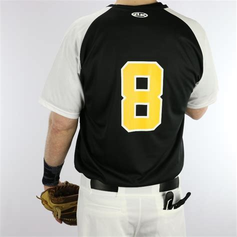 athletic knit baseball jerseys athletic knit ba1375 raglan v neck baseball jersey