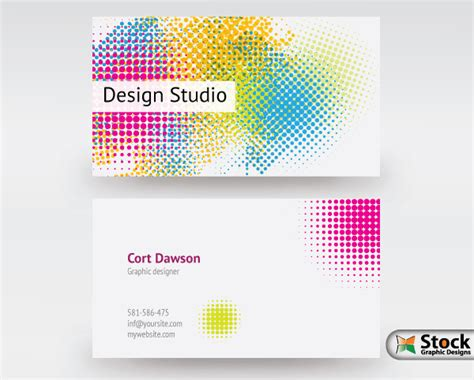 business card design template vector free designer business card vector vector photoshop brushes
