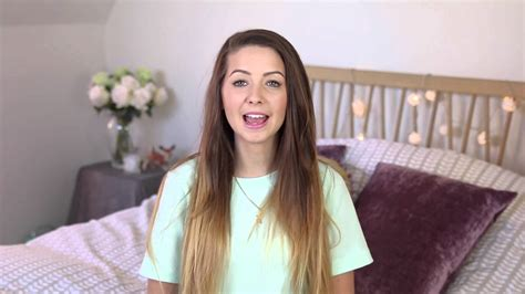 three simple quick hairstyles tutorial by zoella