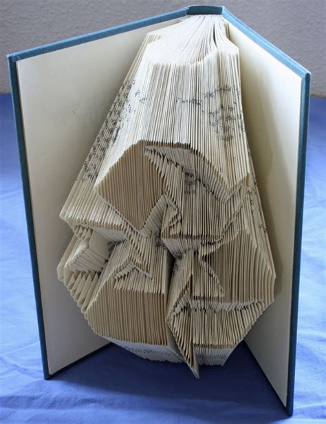 Book Page Origami - mohawk connects