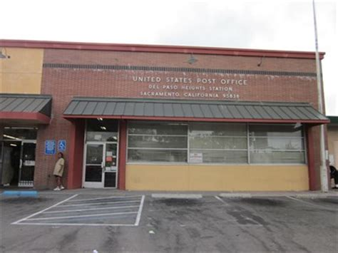 Sacramento Post Office by Sacramento Ca 95838 Paso Heights Station U S