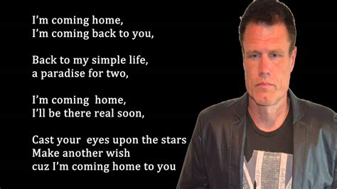 i m coming home by greg gosney lyrics