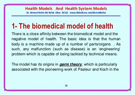 Social Model Of Health Essay by Biomedical Model Of Health Essay