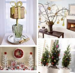Holiday Decorations For The Home by Decorative Christmas Tabletop Decorations Layouts