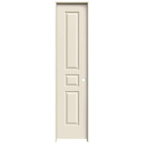 16 Interior Door Krosswood Doors 18 In X 80 In Craftsman Shaker Primed Mdf 3 Panel Right Single Prehung