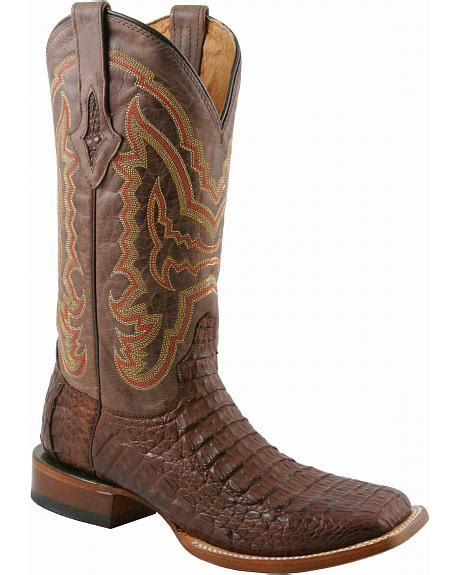 lucchese caiman square toe boots lucchese handcrafted 1883 hornback caiman cowboy boots