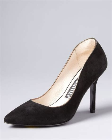 High Heel Pointy Pumps couture high heel pointy toe pumps in black lyst