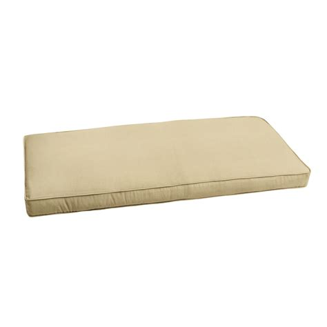 indoor bench cushion 48 x 18 bench cushions 48 x 18 home garden compare prices at