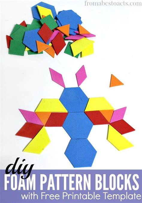 pattern block center activities 17 best images about block center printables on pinterest