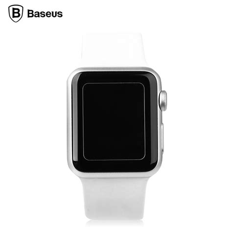 apple watch bandung baseus ultra thin 0 15mm tempered glass for apple watch