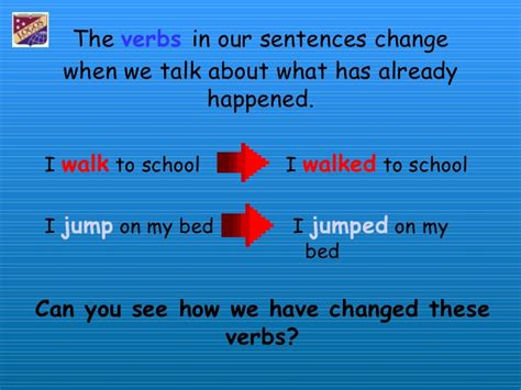 past tense verbs ks2 list irregular past tense verbs