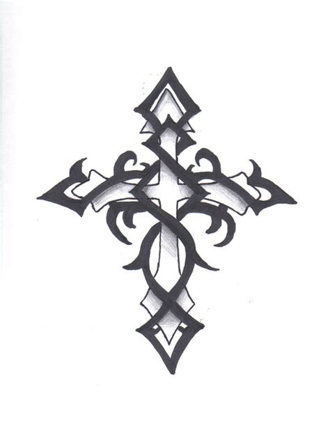 tribal cross by mexjackass on deviantart