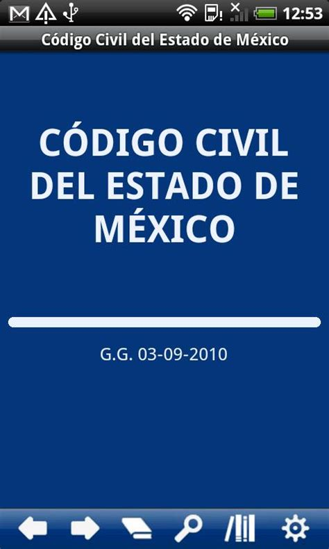 Codigo Civil Del Estado De Mexico 2016 Artculo 4138 | c 243 digo civil del e m 233 xico android apps on google play