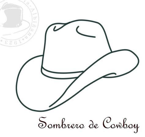 dibujo de cactus con sombrero para colorear sombreros para colorear ii vaqueros colorear y fiesta