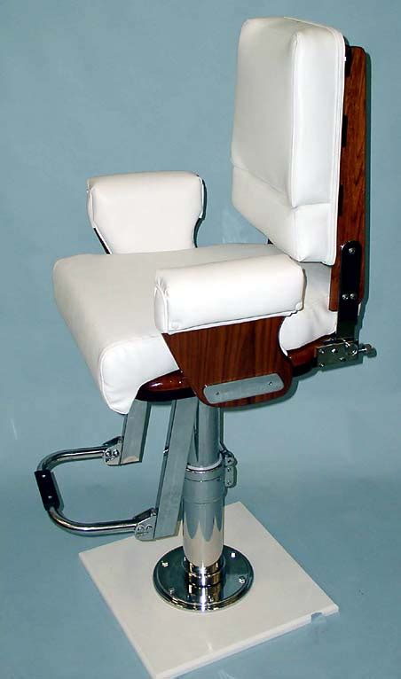 nautical design helm chair helm chair with vertical backrest allows for steering support