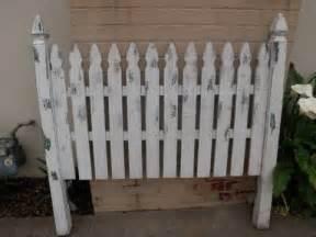 Picket Fence Headboard Fence Headboards Picket Fence Headboard For 100 For Sale In Goleta California