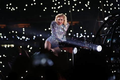 high energy songs for conferences 2017 gaga s bowl show big on flash not so big on