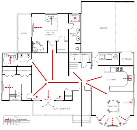 fire evacuation plan for home home evacuation plan template