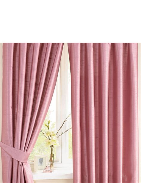 Faux Silk Lined Curtain Panels Canopy Faux Silk Lined