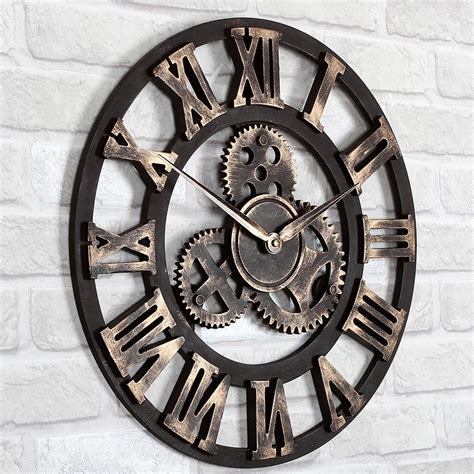 unique wall clock big decorative wall clocks best decor things