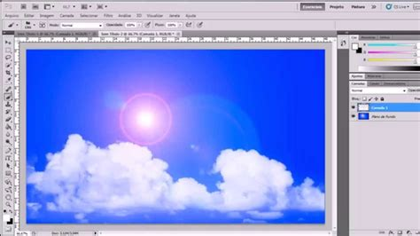 imagenes hechas con el photoshop cs5 hd youtube en photoshop cs5 efeito fotografia de c 233 u nuvens e sol
