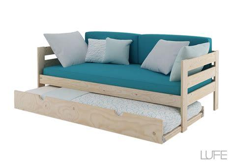sillon que se convierte en litera comprar cama nido con sofa de 1 90 m o 2 m de madera ecol 243 gica