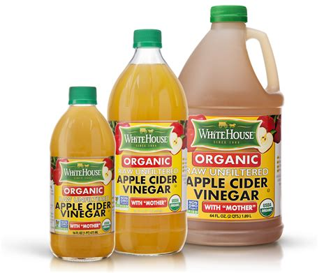 White House Detox Organic by White House Organic Apple Cider Vinegar With