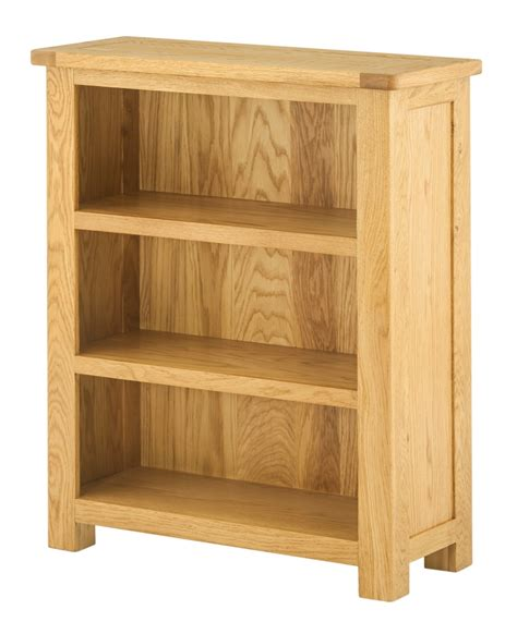 Oak Book Shelf by Portland Oak Bookcase Small