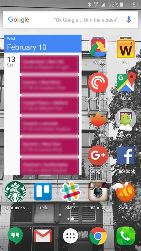 home screen layouts and how to theme them android central