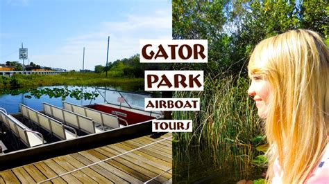 airboat near orlando fl travel vlog gator park airboat ride near miami fl in