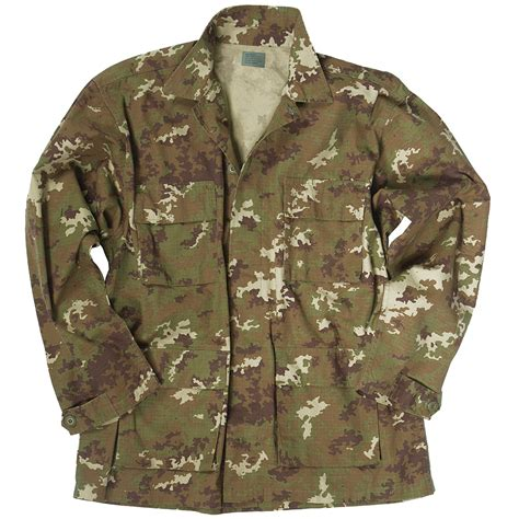 Blouse Bda teesar mens bdu army shirt ripstop cotton camo jacket vegetato woodland ebay