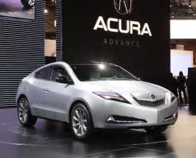 all new honda acura zdx makes its world debut at the new