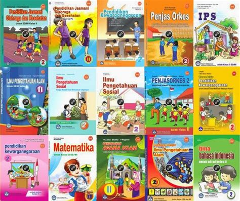 Buku Sd Penjas Kelas 5 Erlangga mari ilmu media pembelajaran buku paket ktsp 2006 sd mi kelas 2 lengkap