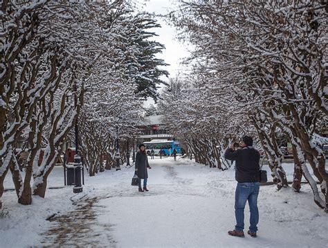 fotos santiago invierno la intensa nevaz 243 n que ti 241 243 de blanco a la regi 243 n de