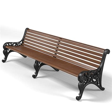 3d bench model 3d bench models max 3ds obj fbx c4d