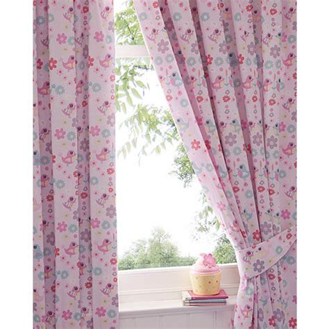 little girl curtains bluezoo girl s pink little owl and friends curtains