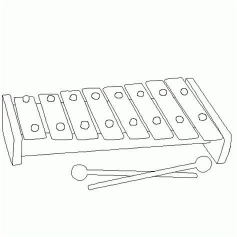 xylophone coloring pages free free x is for xylophone coloring pages