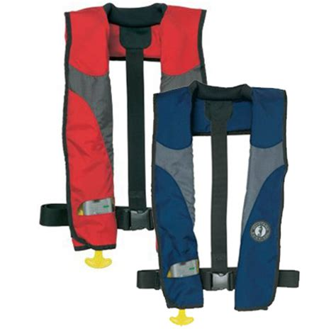 Mustang Auto Inflate Life Jacket by Mustang Auto Inflatable Life Jacket Md3087 Team One Newport