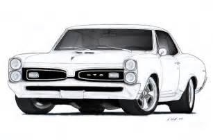 1967 pontiac gto drawing vertualissimo deviantart deviantart car drawings