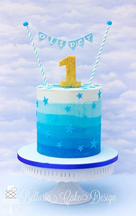 Blue Ombreercream Ombre Cakes Ercream