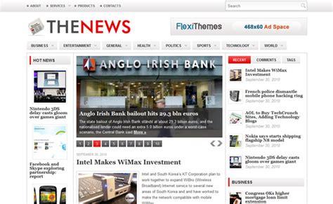 newspaper theme options 40 high quality premium magazine wordpress themes from