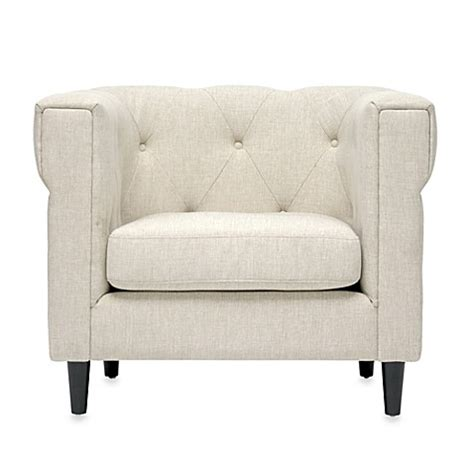 bed bath and beyond chesterfield cortland modern chesterfield chair bed bath beyond