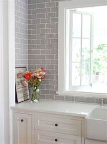 grey subway tile backsplash 25 best ideas about gray subway tile backsplash on