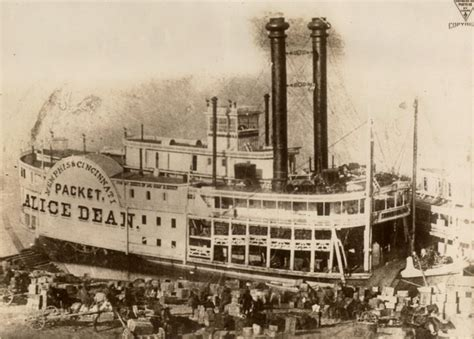 steamboat impact on society steamboats on the ohio river the filson historical society